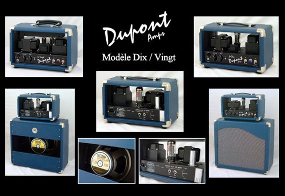 Amplifiers Dix/Vingt Dupont