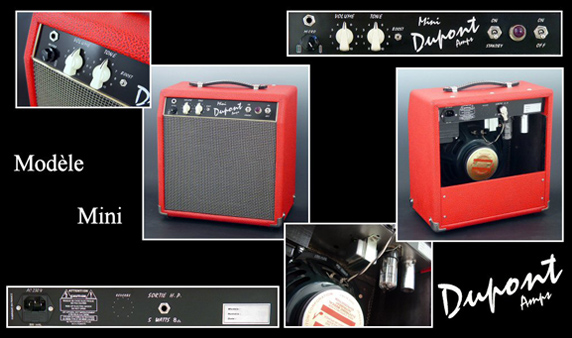 Amplifier Mini Combo Dupont