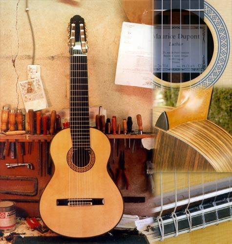 Classical guitars Dupont