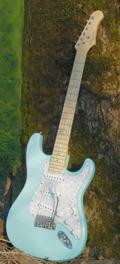 Electric guitar Stratocaster SDLB Dupont