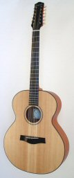 Folk guitar steel-string 12strings