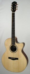 Folk guitar steel-string ABJ
