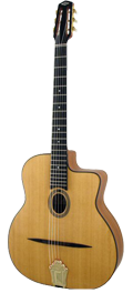Gypsy swing guitar Dupont - Busato Standard model