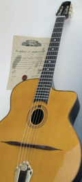 Gypsy swing guitar Dupont - Old reserve model
