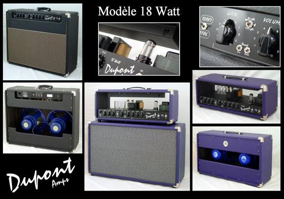 Amplis 18Watt Dupont