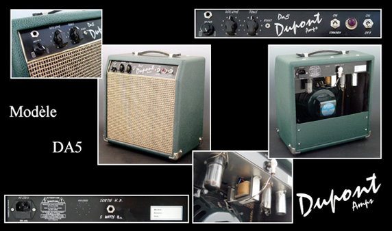 Ampli Combo DA5 Dupont