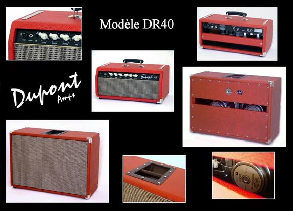 Ampli Dupont DR40