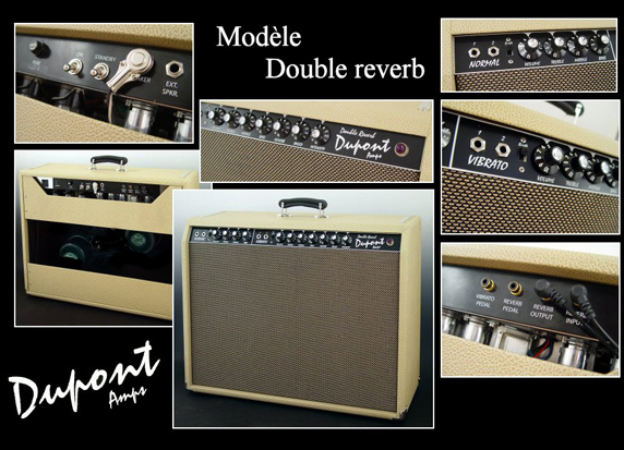 Ampli Double Reverb Dupont