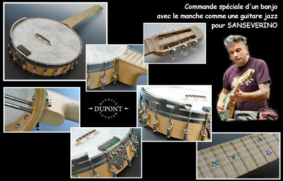Commande spéciale : Banjo Sanseverino