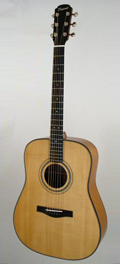Guitare Folk Dupont - Modèle Dreadnought-DR45H