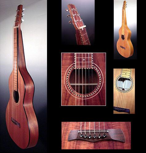 Guitares Hawaiennes Type Weissenborn Dupont