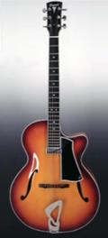 Guitare Dupont - Modèle ATP16