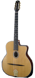 Guitare Jazz Manouche Dupont - Type Busato-Luxe