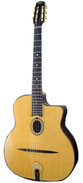 Guitare Jazz Manouche Dupont - Type Busato-Royale