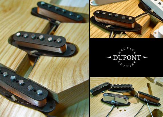 Micros Dupont pour guitares électriques