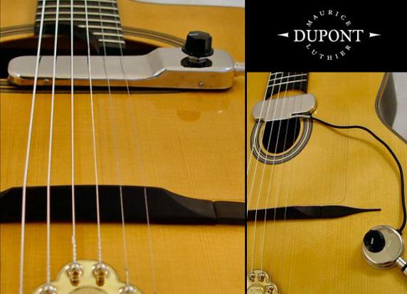Micros Stimer pour guitares électro-acoustiques
