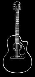 Guitare Jazz Manouche Dupont - Modèle Selmer MD30